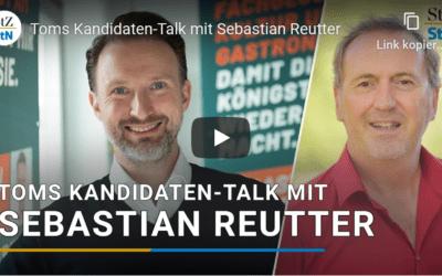 Stuttgarter Zeitung und Stuttgarter Nachrichten – Toms Kandidaten-Talk mit Sebastian Reutter